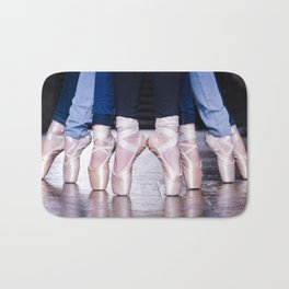 The powerpuff ballerinas Bath Mat