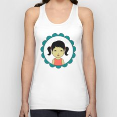 Pigtails Unisex Tank Top