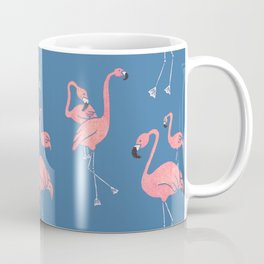 Flamingo Pattern Coffee Mug