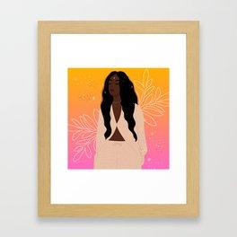 Tune In II Framed Art Print