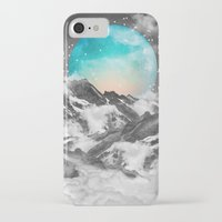 teal iPhone & iPod Cases featuring It Seemed To Chase the Darkness Away by soaring anchor designs