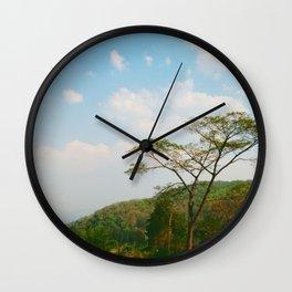 Mon Ciel Bleu Wall Clock