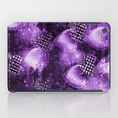 Light Bulb Hearts Series (purple) iPad Case