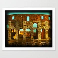 The Colosseum Up Close Art Print