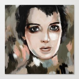 Winona Ryder Canvas Print