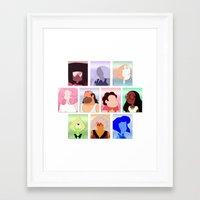 steven universe Framed Art Prints featuring Steven Universe by Moonblossom