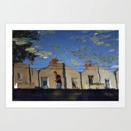 Dublin Grand Canal Dreams Art Print