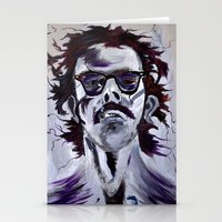 chuck Stationery Cards featuring Chuck Close by Susie (Zsuzsi) Czompo