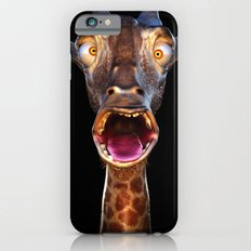 Animal Portraits - Giraffe iPhone 6s Slim Case