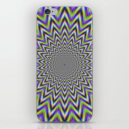 Starry Pulse iPhone Skin