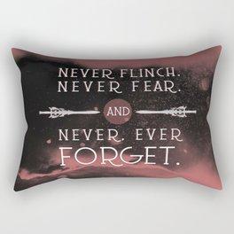 Nevernight - Never Forget Rectangular Pillow