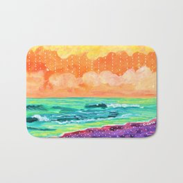 Simple Seascape IX Bath Mat