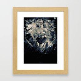 Space Breaker Framed Art Print