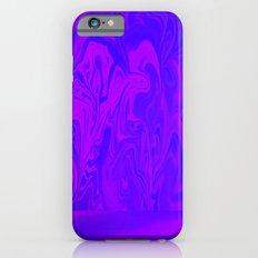 Purple and Pink swirls  iPhone 6s Slim Case