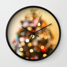 So this is Christmas Wall Clock