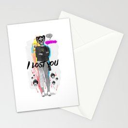 I Lost You Stationery Cards