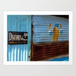 DeathRow Gym and Aerobics Art Print