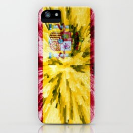 Extruded Flag of Spain iPhone Case