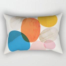 Abstraction_Pebbles_002 Rectangular Pillow