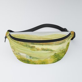 Autumn Fall on a Vermont Town Fanny Pack