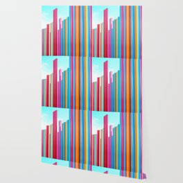 Colorful Rainbow Pipes Wallpaper