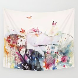 dreamy insomnia Wall Tapestry