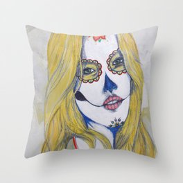 """Guera"" or ""Blondie"" Throw Pillow"