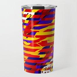 Liquify design Travel Mug