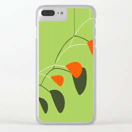 Minimalist Modern Mobile Clear iPhone Case
