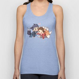 The Fox 'n The Wolf - Part 2 Unisex Tank Top