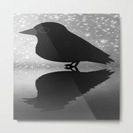 Crow-82 Metal Print