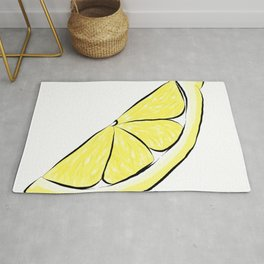 Slice of Lemon Rug