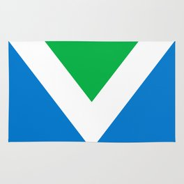 Official Vegan Flag Rug