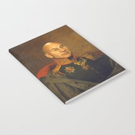 Sir Patrick Stewart - replaceface Notebook