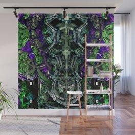 Exoskeleton Green Wall Mural