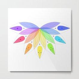 Sacred rainbow Metal Print