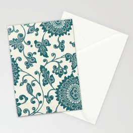 Chinese Neo-Retro Pattern VII Stationery Cards