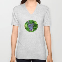 Lilacs in May Unisex V-Neck