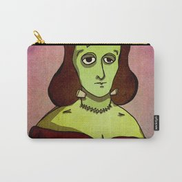 Prophets of Fiction - Mary Shelley /Frankenstein Carry-All Pouch