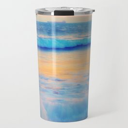Pastel sea Travel Mug