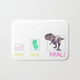 Fake, Fake, Real Bath Mat