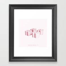 Variation Number 23 (sketch) Framed Art Print