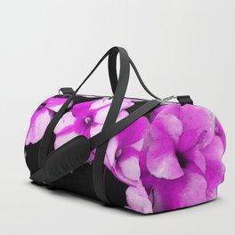 Pink Hanging Basket Duffle Bag