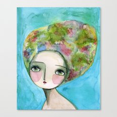 The Muse Of Spring Canvas Print