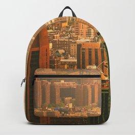 New York City Skyline Rooftops Backpack