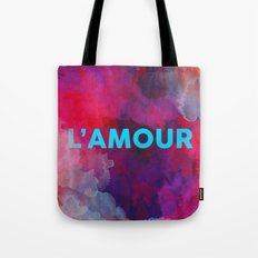 L'amour Tote Bag