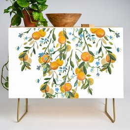 A Bit of Spring and Sushine Trailing Oranges Credenza