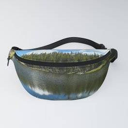 Serenity At West Gull Drive - Yellowstone National Park Fanny Pack
