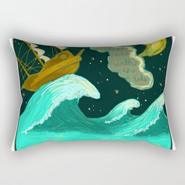 All Ships Rise With The Tide Rectangular Pillow