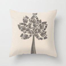 UPC Tree Throw Pillow